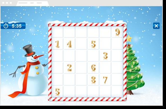 online weihnachtsspiele